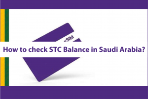How to check STC Balance in Saudi Arabia