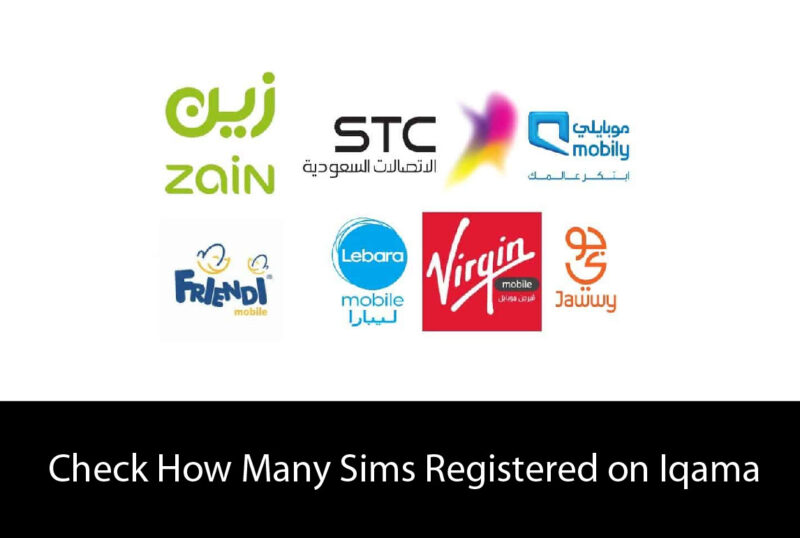 Check How Many Sims Registered on Iqama